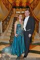 Vor dem Ball - Sacher und Grand Hotel - Do 27.02.2014 - Toni M�RWALD mit Ehefrau Eva3