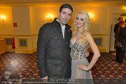 Vor dem Ball - Sacher und Grand Hotel - Do 27.02.2014 - Crazy Cathy SCHMITZ31