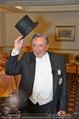 Vor dem Ball - Sacher und Grand Hotel - Do 27.02.2014 - Richard LUGNER4