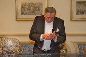 Vor dem Ball - Sacher und Grand Hotel - Do 27.02.2014 - Richard LUGNER9