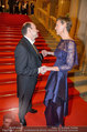 Opernball 2014 - Feststiege - Staatsoper - Do 27.02.2014 - Desiree TREICHL-ST�RGKH, Dominique MEYER32
