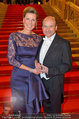 Opernball 2014 - Feststiege - Staatsoper - Do 27.02.2014 - Desiree TREICHL-ST�RGKH, Dominique MEYER4