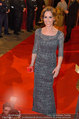Opernball 2014 - Feststiege - Staatsoper - Do 27.02.2014 - Kati BELLOWITSCH40