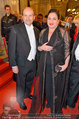 Opernball 2014 - Feststiege - Staatsoper - Do 27.02.2014 - Dominique MEYER, Maria HAPPEL63