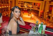 Opernball 2014 - das Fest - Staatsoper - Do 27.02.2014 - Kim KARDASHIAN1