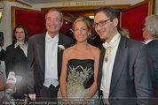 Opernball 2014 - das Fest - Staatsoper - Do 27.02.2014 - Alexa WESNER, Christoph LEITL123