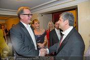 Opernball 2014 - das Fest - Staatsoper - Do 27.02.2014 - Wolfgang FISCHER, Michael SPINDELEGGER146