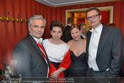 Opernball 2014 - das Fest - Staatsoper - Do 27.02.2014 - Werner und Martina FAYMANN, Kristina SPRENGER, Gerald GERSTBAUER147