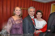 Opernball 2014 - das Fest - Staatsoper - Do 27.02.2014 - Werner und Martina FAYMANN149