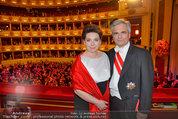 Opernball 2014 - das Fest - Staatsoper - Do 27.02.2014 - Werner und Martina FAYMANN150