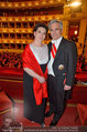 Opernball 2014 - das Fest - Staatsoper - Do 27.02.2014 - Werner und Martina FAYMANN151