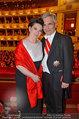 Opernball 2014 - das Fest - Staatsoper - Do 27.02.2014 - Werner und Martina FAYMANN152