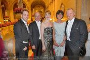 Opernball 2014 - das Fest - Staatsoper - Do 27.02.2014 - Johannes B. KERNER mit Freunden157