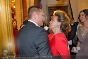 Opernball 2014 - das Fest - Staatsoper - Do 27.02.2014 -  Sergei BENEDETTER, Maya LANGES-SWAROVSKI166