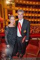 Opernball 2014 - das Fest - Staatsoper - Do 27.02.2014 - Heinz und Margit FISCHER174