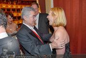 Opernball 2014 - das Fest - Staatsoper - Do 27.02.2014 - Doris BURES, Heinz FISCHER178