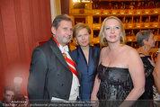 Opernball 2014 - das Fest - Staatsoper - Do 27.02.2014 - Doris BURES, Johanne HAHN179