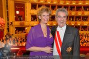 Opernball 2014 - das Fest - Staatsoper - Do 27.02.2014 - Heinz FISCHER181