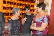 Opernball 2014 - das Fest - Staatsoper - Do 27.02.2014 - Margit FISCHER, Maria BERGER, Renate BRAUNER184
