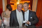 Opernball 2014 - das Fest - Staatsoper - Do 27.02.2014 - Oliver POCHER, Richard LUGNER2