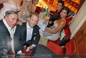 Opernball 2014 - das Fest - Staatsoper - Do 27.02.2014 - Oliver POCHER, Richard LUGNER, Kim KARDASHIAN, Kris JENNER20