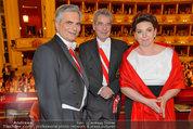 Opernball 2014 - das Fest - Staatsoper - Do 27.02.2014 - Heinz FISCHER, Werner und Martina FAYMANN196