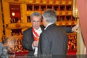 Opernball 2014 - das Fest - Staatsoper - Do 27.02.2014 - Heinz FISCHER, Werner FAYMANN197