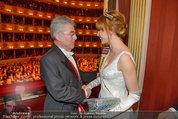 Opernball 2014 - das Fest - Staatsoper - Do 27.02.2014 - Heinz  FISCHER, Ena KADIC198