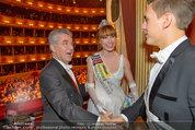 Opernball 2014 - das Fest - Staatsoper - Do 27.02.2014 - Heinz  FISCHER, Ena KADIC, Philipp KNEFZ200