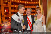 Opernball 2014 - das Fest - Staatsoper - Do 27.02.2014 - Heinz  FISCHER, Ena KADIC, Philipp KNEFZ201
