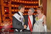 Opernball 2014 - das Fest - Staatsoper - Do 27.02.2014 - Heinz  FISCHER, Ena KADIC, Philipp KNEFZ202