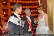 Opernball 2014 - das Fest - Staatsoper - Do 27.02.2014 - Heinz  FISCHER, Ena KADIC, Philipp KNEFZ204