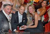 Opernball 2014 - das Fest - Staatsoper - Do 27.02.2014 - Oliver POCHER, Richard LUGNER21