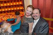Opernball 2014 - das Fest - Staatsoper - Do 27.02.2014 -  Johann LAFER mit Ehefrau Silvia206