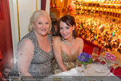Opernball 2014 - das Fest - Staatsoper - Do 27.02.2014 - Marika LICHTER, Anna Maria KAUFMANN208