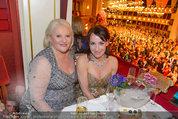 Opernball 2014 - das Fest - Staatsoper - Do 27.02.2014 - Marika LICHTER, Anna Maria KAUFMANN209
