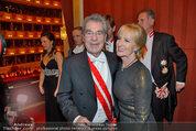 Opernball 2014 - das Fest - Staatsoper - Do 27.02.2014 - Dagmar KOLLER, Heinz FISCHER217