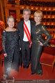 Opernball 2014 - das Fest - Staatsoper - Do 27.02.2014 - Dagmar KOLLER, Heinz und Maria FISCHER218
