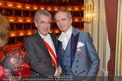 Opernball 2014 - das Fest - Staatsoper - Do 27.02.2014 - Heinz FISCHER, Magic Christian224