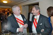 Opernball 2014 - das Fest - Staatsoper - Do 27.02.2014 - Michael H�UPL, Johannes HAHN236