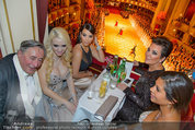Opernball 2014 - das Fest - Staatsoper - Do 27.02.2014 - Crazy Cathy SCHMITZ, Kim KARDASHIAN, Kris JENNER, Richard LUGNER25