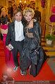 Opernball 2014 - das Fest - Staatsoper - Do 27.02.2014 - Hubertus HOHENLOHE, Simona GANDOLFI273