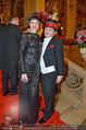 Opernball 2014 - das Fest - Staatsoper - Do 27.02.2014 - Carmen KREUZER, Schoko-Michi278