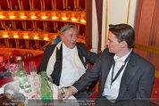 Opernball 2014 - das Fest - Staatsoper - Do 27.02.2014 - Richard LUGNER, Norman SCHENZ281