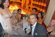 Opernball 2014 - das Fest - Staatsoper - Do 27.02.2014 - Oliver POCHER, Crazy Cathy SCHMITZ, Kim KARDASHIAN, Kris JENNER3