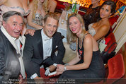 Opernball 2014 - das Fest - Staatsoper - Do 27.02.2014 - Oliver POCHER, Richard LUGNER4