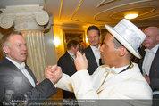 Opernball 2014 - das Fest - Staatsoper - Do 27.02.2014 - Johannes B. KERNER, Chris STEPHAN als Kanye WEST56