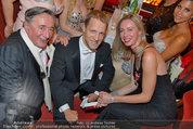Opernball 2014 - das Fest - Staatsoper - Do 27.02.2014 - Oliver POCHER, Richard LUGNER6