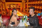 Opernball 2014 - das Fest - Staatsoper - Do 27.02.2014 - Kim KARDASHIAN, Kris JENNER7