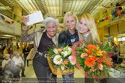 Model contest - Kaufpark Alt-Erlaa - Fr 28.02.2014 - die ersten 3 Pl�tze, Mitte: Siegerin Katja KIESLING201
